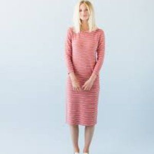 Sonnet James Red Stripe REESE Play Dress XS NEW